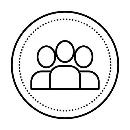 people group teamwork isolated icon vector illustration design 일러스트