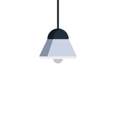lamp light hanging isolated icon vector illustration design Illustration