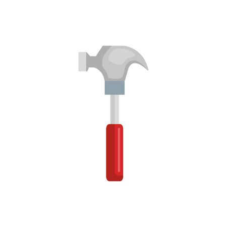 hammer design, Construction work repair reconstruction industry build and project theme Vector illustration Illustration