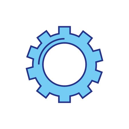 Gear design, construction work repair machine part technology industry and technical theme Vector illustration 矢量图片