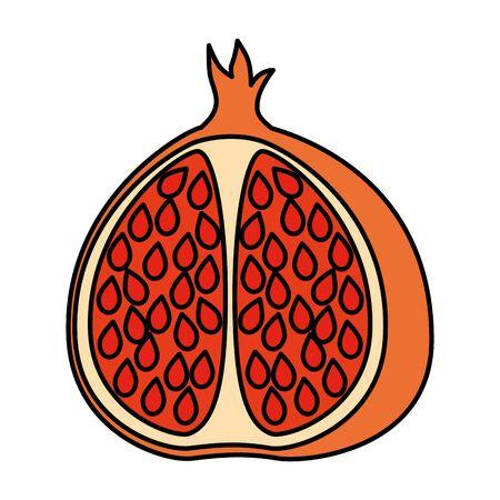 fruit grafisch ontwerp vectorillustratie