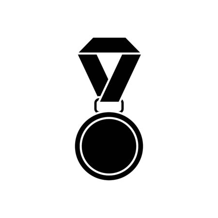Medal design, Winner competition success sport achievement leadership and challenge theme Vector illustration Ilustrace