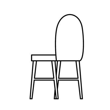 furniture equipment isolated icon vector illustration design  イラスト・ベクター素材