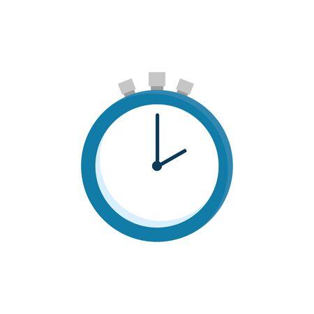 chronometer time equipment isolated icon vector illustration design