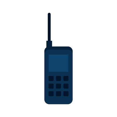Phone icon design, Vintage retro call telephone communication contact and technology theme Vector illustration 写真素材 - 136077549