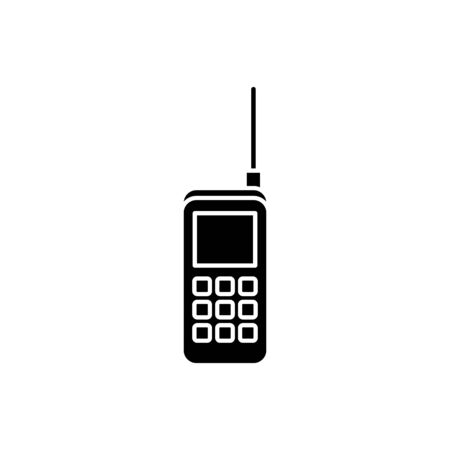 Phone icon design, Vintage retro call telephone communication contact and technology theme Vector illustration 写真素材 - 136077543