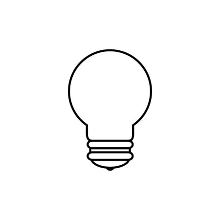 Light bulb design, Energy power technology electricity illumination and innovation theme Vector illustration