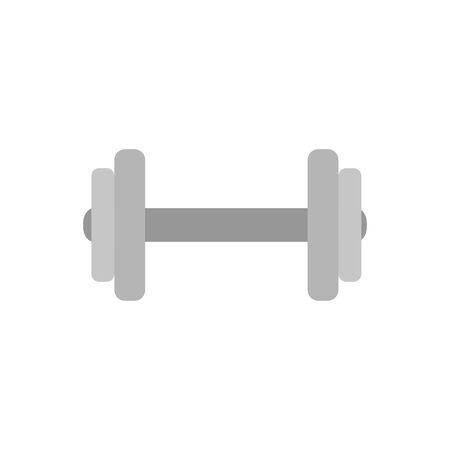 dumbbell equipment gym isolated icon vector illustration design Иллюстрация