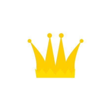 crown gold royal isolated icon vector illustration design
