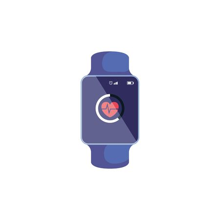smartwatch sport device isolated icon vector illustration design