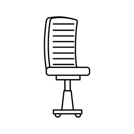 office chair equipment isolated icon vector illustration design Foto de archivo - 136338847