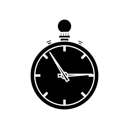Chronometer design, Tool time instrument second sport stopwatch deadline and measure theme Vector illustration