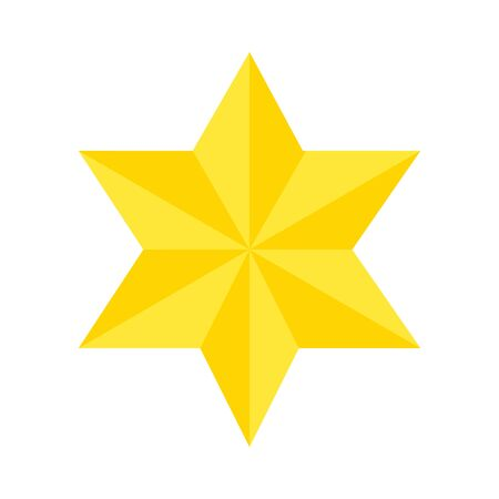 star david symbol isolated icon vector illustration design