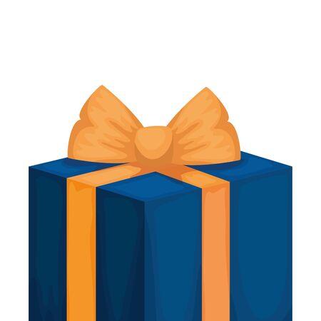 gift box present isolated icon vector illustration design