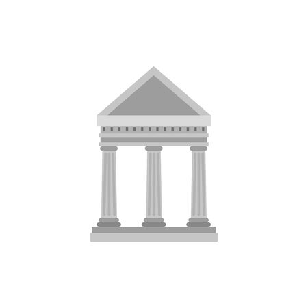 bank structure facade isolated icon vector illustration design 向量圖像