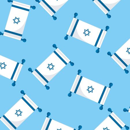 background of flags israel patriotic vector illustration design