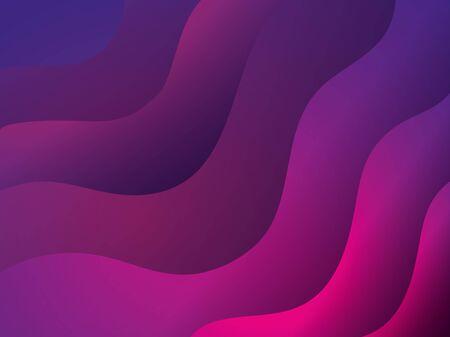 waves background pink and purple colors vector illustration design 版權商用圖片 - 136885973