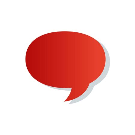 speech bubble communication isolated icon vector illustration design 向量圖像