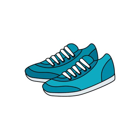 shoes of sport isolated icon vector illustration design 版權商用圖片 - 137042999