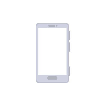 Diseño de ilustración de vector de icono aislado de tecnología de dispositivo de teléfono inteligente Ilustración de vector