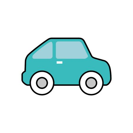 car sedan vehicle isolated icon vector illustration design