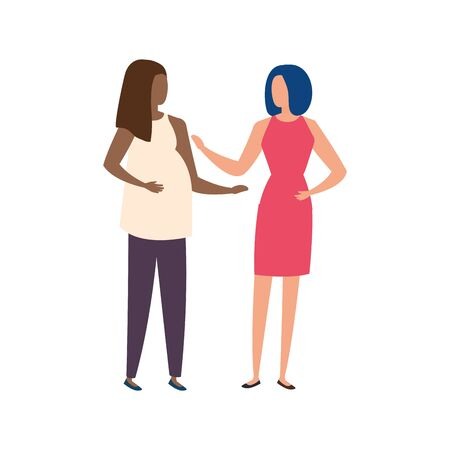 beautiful women avatar characters icons vector illustration design 版權商用圖片 - 137405517