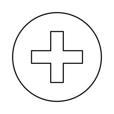add social media isolated icon vector illustration design  イラスト・ベクター素材