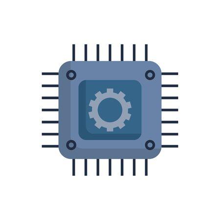 Ontwerp van uitrusting en moederbord, bouwwerkzaamheden, reparatie van machineonderdelen, technologische industrie en technisch thema Vectorillustratie