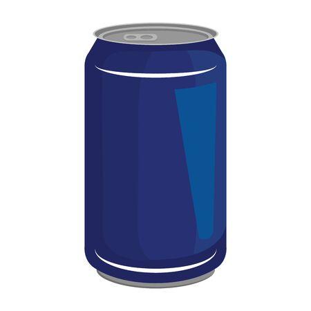 aluminium can product icon vector illustration design