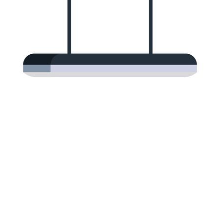 lamp light hanging isolated icon vector illustration design Çizim