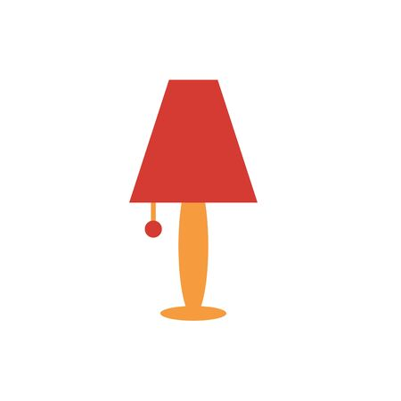 house lamp light furniture icon vector illustration design