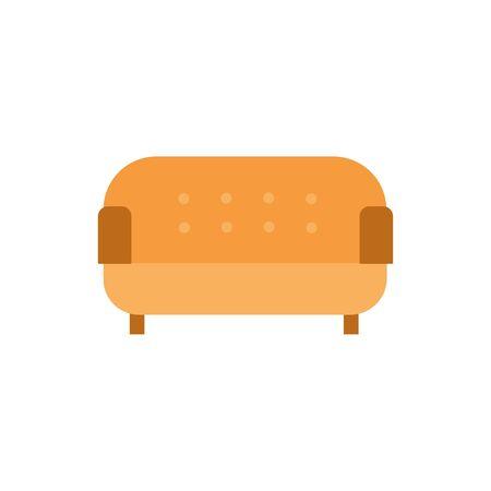 livingroom sofa furniture isolated icon vector illustration design