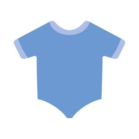 cute clothes baby accessory icon vector illustration design