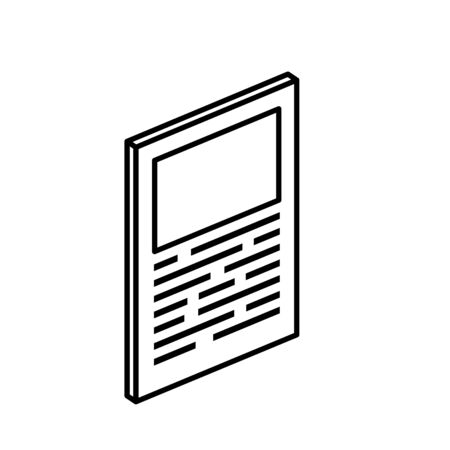 document paper report isolated icon vector illustration design  イラスト・ベクター素材