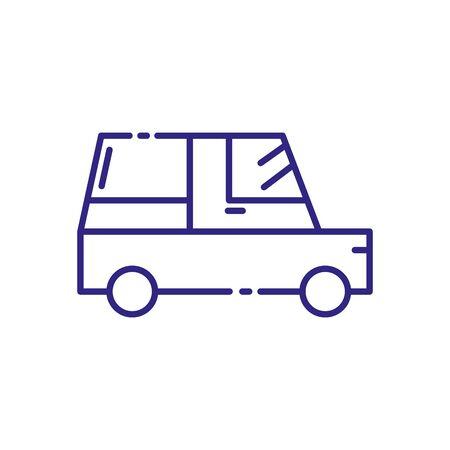 Car design, Transportation vehicle transport wheel speed traffic road and travel theme Vector illustration  イラスト・ベクター素材