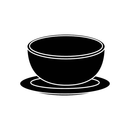 bowl dish kitchen isolated icon vector illustration design