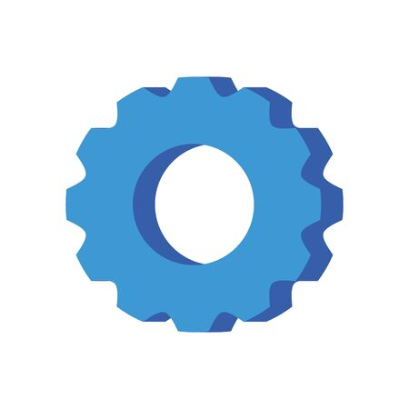 Gear design, construction work repair machine part technology industry and technical theme Vector illustration