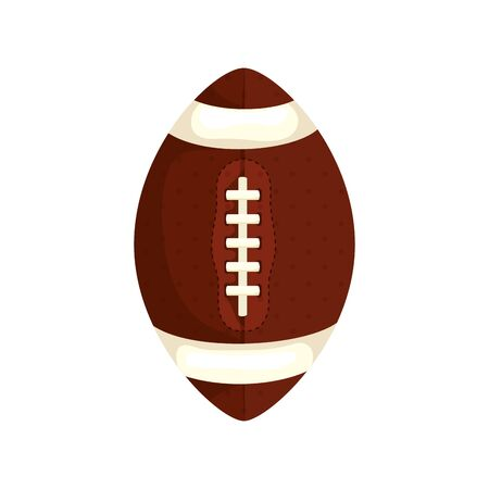ball american football isolated icon vector illustration design