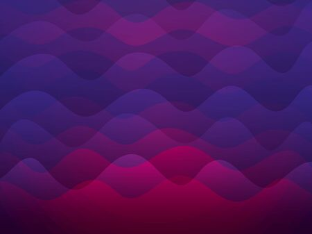 Waves  pink and purple colors