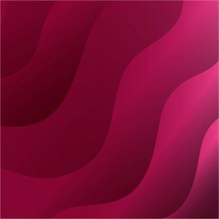 waves background pink color icon vector illustration design