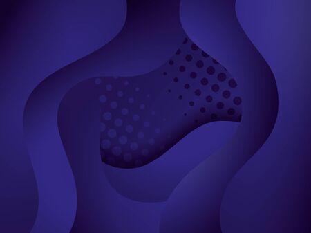 waves background blue color icon vector illustration design