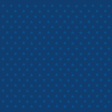 pattern of stars blue decoration vector illustration design