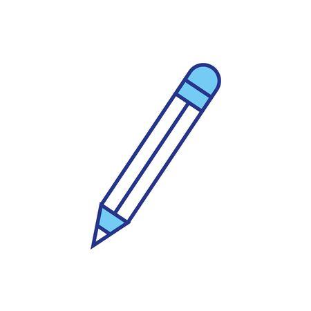 Pencil design, Tool write office object instrument equipment and draw theme Vector illustration 版權商用圖片 - 139506311