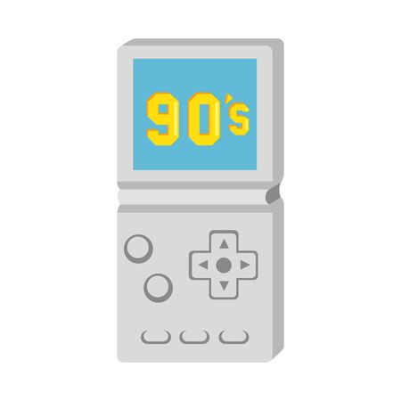 video game handle nineties style isolated icon