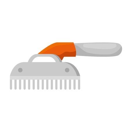 comb pet grooming isolated icon vector illustration design Ilustracja