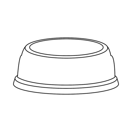 dish for pet isolated icon vector illustration design