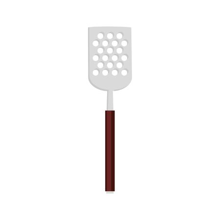 spatula barbecue cutlery tool isolated icon vector illustration design