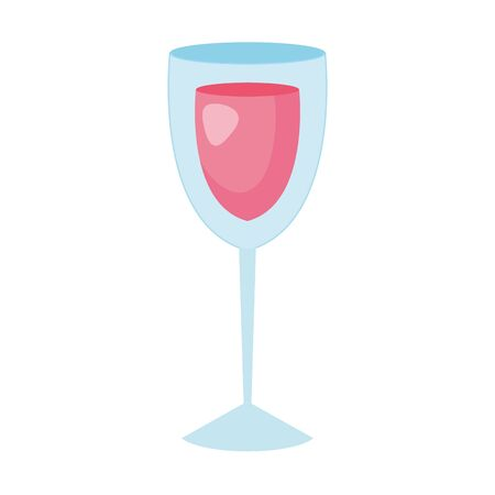 cup glass with wine isolated icon vector illustration design Zdjęcie Seryjne - 140203874