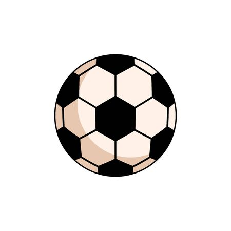 sport ball soccer isolated icon vector illustration design