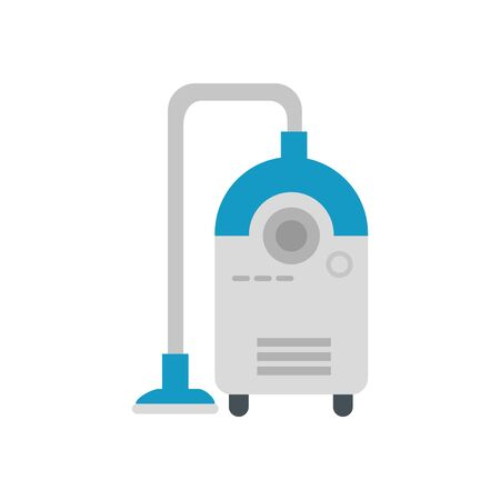Vacuum cleaner design, House home electronic equipment tool apartment technology interior and household theme Vector illustration